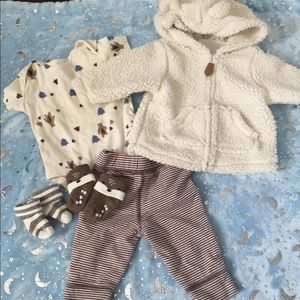 Baby boy 3 month outfit set